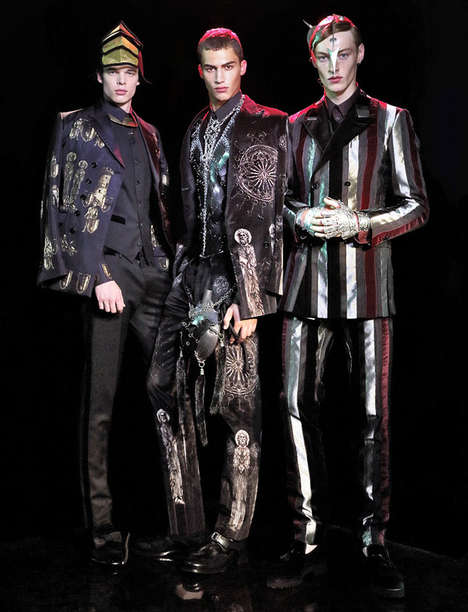 Conceptual Military Fashion - L'Officiel Hommes Thailand's Royal Infantry Story is Couture-Clad