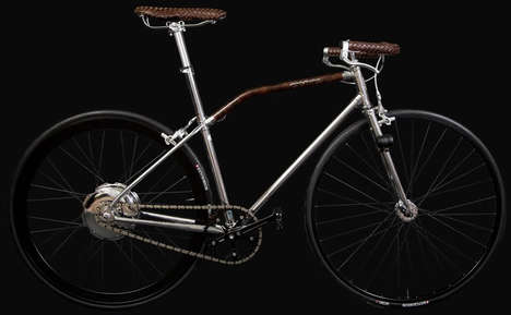 Luxurious Retro Cycles - The Pininfarina Fuoriserie is a Modernized Vintage Bicycle