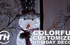 Colorful Customized Holiday Decor - Canadian Tire is Offering Inspirational Seasonal Decorations