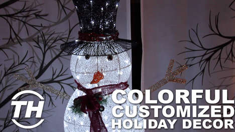 Colorful Customized Holiday Decor
