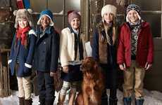 Americana Outerwear Collections - The Lands' End Outerwear Range Marries Style With Performance