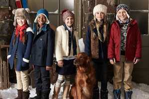 The Lands' End Outerwear Range Marries Style With Performance