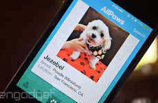 Romantic Adoption Apps - The AllPaws Pet Adoption App is Inspired by How Mobile Dating Works