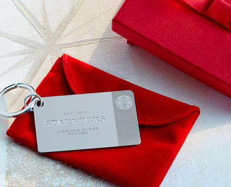 Silver Coffee Cards