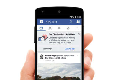 Social Ebola Strategies - These Social Media Initiatives from Facebook are Combating the Crisis