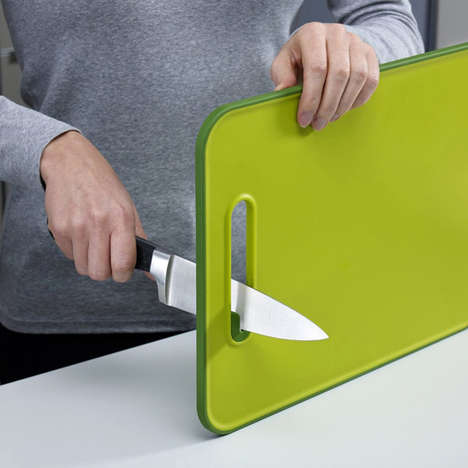 Knife-Sharpening Cutting Boards - The Joseph Joseph Slice and Sharpen Ensures You're Ready to Prep