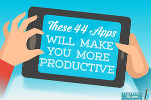 This Infographic Lists the Pros and Cons of Productivity-Enhancing Apps
