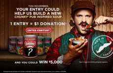 Charitable Soup Contests - Campbell's Chunky Wants You to Create a Soup for a Good Cause