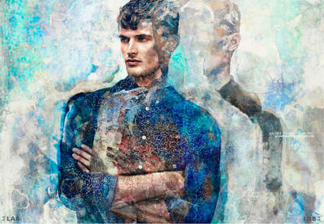 Painterly Menswear Features - This Garrett Neff Editorial is Captured for Lab A4 Magazine