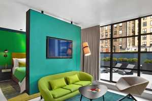 The William Hotel Features Several Intense Color Schemes