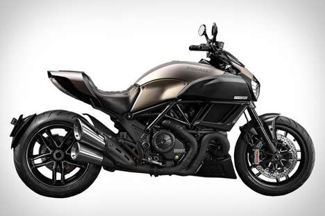 Limited Edition Luxury Motorbikes - The Ducati Diavel Titanium Debuts at EICMA in Milan