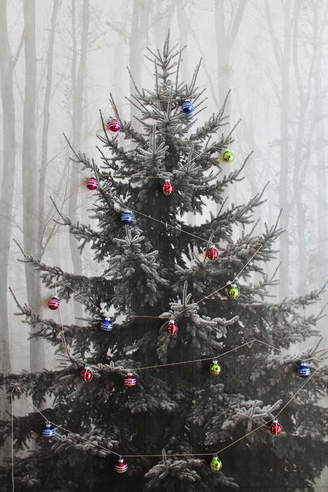 50 Alternative Christmas Tree Ideas - From High Heeled Holiday Trees to Exploding Tannenbaum Decor