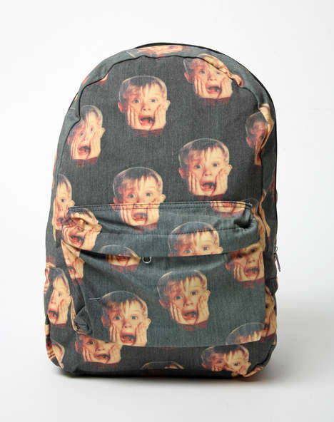 Controversial Child Star Accessories - O'Mighty's Home Alone Backpack Celebrates Macaulay Culkin