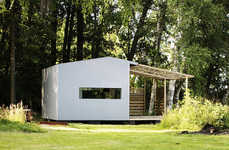 Contemporary Prefab Housing - The Mini House by Jonas Wagell and Sommarnojen is a Tiny Getaway
