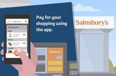 Grocery Checkout Apps - Sainsbury's Grocery Shopping App Lets You Skip the Checkout Counter