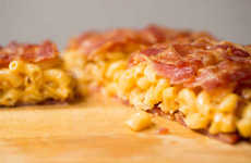 Bacon-Weaved Macaroni Quesadillas - This Unconventional But Epic Quesadilla Recipe is a Salty Savior