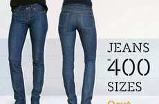 Custom-Sized Jeans - Qcut by Crystal Beasley Ensures Perfect Pants for Every Woman