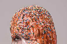 Sweetly Subversive Photography - Keith Allen Phillips Covers His Models in Chocolate and Cheetos