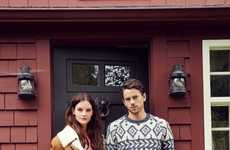 Comfortably Festive Catalogs - Urban Outfitter's Home for the Holidays Lookbook is Chic and Laidback