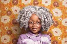 Elderly Toddler Photography - Zachary Scott  Accelerates the Aging Process for a Group of Toddlers