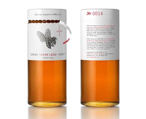 Tear-Off Honey Packaging