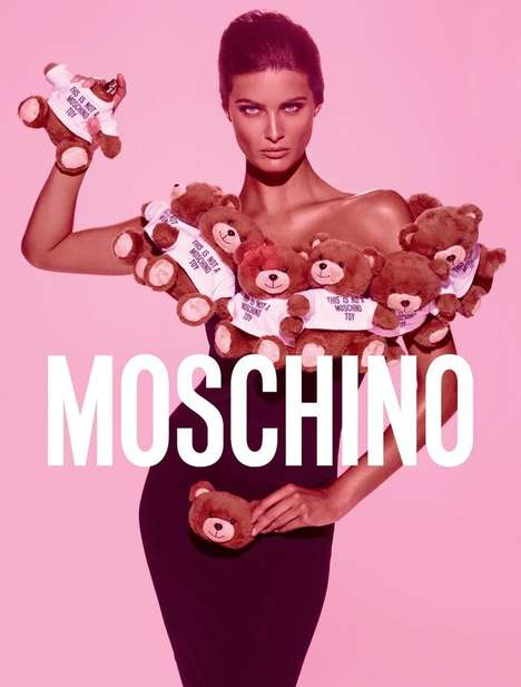 Teddy Bear Perfumes - The Moschino Toy Fragrance is Designed by Jeremy Scott