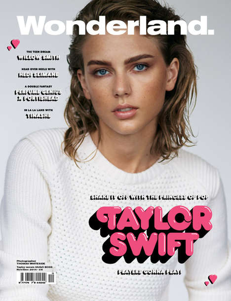 Understated Celeb Covers - The Taylor Swift Wonderland Cover is Subtle and Effortlessly Cool