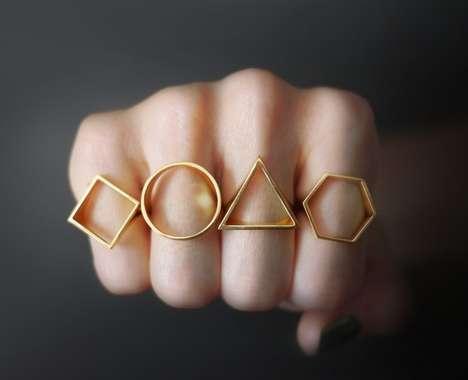 Simplistically Shaped Jewelry
