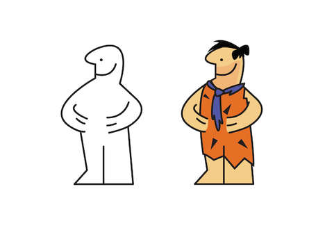 Re-Imagined Logo Illustrations - Selki Alimam's IKEA Man Portrays Him as Different Cartoons