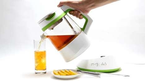 Hi-Tech Tea Brewers - The Smart Qi teamaker Perfects Tea Brewing