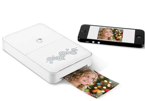 Pocket-Sized Phone Printers - This Portable Smartphone Printer Lets You Print Pictures on the Go