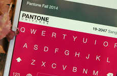 Colorful Keyboard Apps - This iOS Keyboard App is a Collaboration Between Pantone and Brightkey