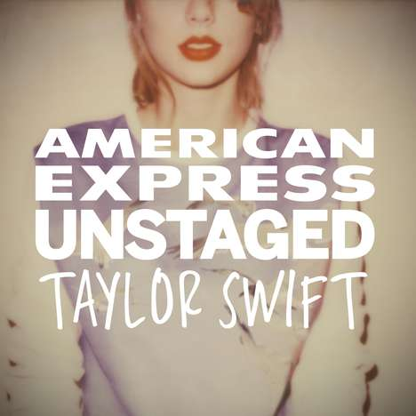 Experiential Music Video Apps - The American Express Unstaged Taylor Swift App is Fan-Directed
