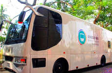 Internet Education Buses - Google is Driving a Bus Across Bangladesh as a Digital Literacy Campaign