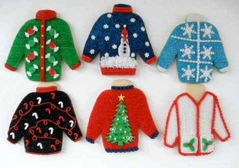 Ugly Sweater Christmas Cookies - PopSugar Provides Perfect Guide to Making Hilarious Holiday Treats
