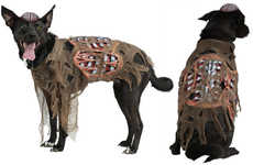 Undead Doggy Frocks - The Zombie Dog Costume Transforms Fido into a Brain-Seeking Monster