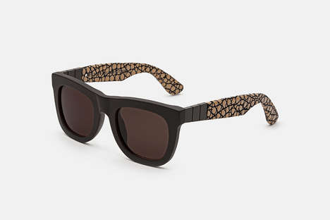 "Jungle-Inspired Sunglasses - The SUPER Winter 2014 ""Casa Nostra"" Collection is Down South Chic"