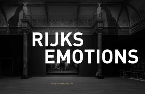 Face-Pairing Museum Campaigns - Interactive Museum Strategy Rijks Emotions Matches Faces to Artwork