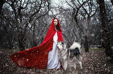 Female Fairytale Photoshoots - Darya Kondratyeva Captures Images Inspired by Empowering Female Leads