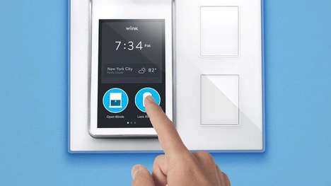 Connected Home Consoles - The Wink Relay Brings All Your Devices to One Interface for Ease