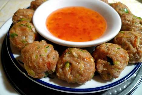 Thai Turkey Meatballs - This Meatball Recipe Blends Thanksgiving and Thai Flavors