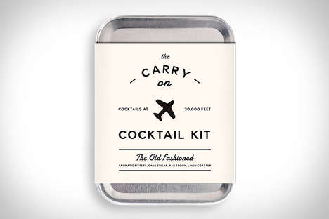 InFlight Cocktail Kits - The Carry On Cocktail Kit Livens Up the Drink Choices When In the Air
