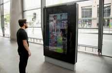 Digital Bus Shelter Advertisements - This Augmented Reality Ad Immerses Commuters in a Video Game