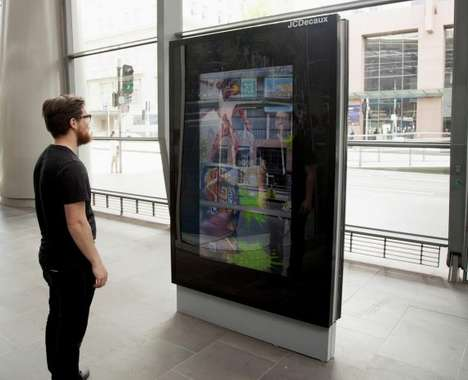 Digital Bus Shelter Advertisements