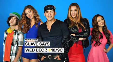 Upbeat Family TV Shows - Suave Says is a VH1 Reality TV Show That Follows the Creator of Rico Suave