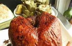 Whiskey-Seasoned Turkey Recipes - This Whiskey-Glazed Turkey Makes for a Boozy Thanksgiving
