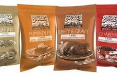 Thanksgiving Potato Chips - Boulder Canyon's Potato Chip Flavors Take After Holiday Staples
