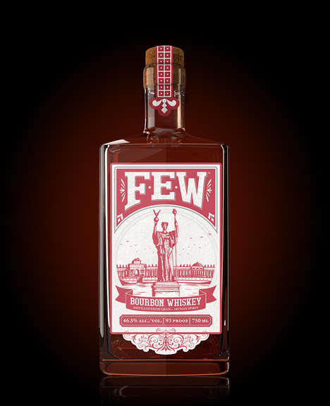 Southern-Inspired Bourbons - Few's Bourbon Whiskey Mixes Southern Tradition with Northern Rye