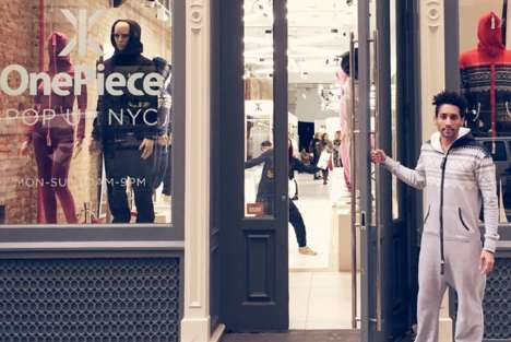Internet Influencer Discounts - The OnePiece Pop-Up Uses Social Shopping to Offer Customer Discounts
