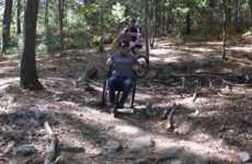 Mountain Biking Wheelchairs - The GRIT Freedom Chair is An All-Terrain Wheelchair